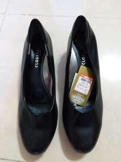 Closshi   黑色高跟鞋 42號 26cm 返工鞋 空姐鞋 地勤 客服服務員 酒店 通勤鞋