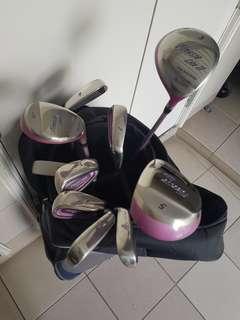PINK Macgregor Ladies Golf Full set
