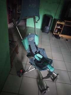 Stroller traveling