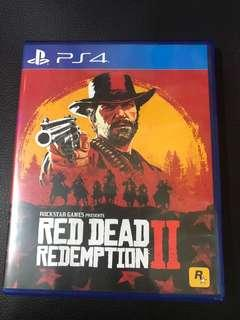 (PS4) Red Dead Redemption 2 rdr2