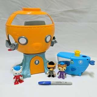 Original octonauts playset