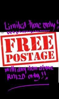 FREE POSTAGE !!