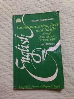 English Communication Arts and Skills through Afro-Asian Literature by Josephine Serrano & Milagros G. Lapid
