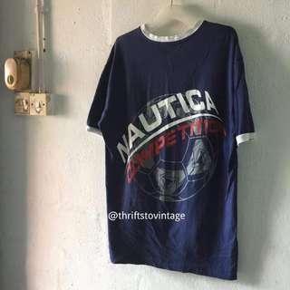 🔔 Nautica Competition V Collar T-shirt