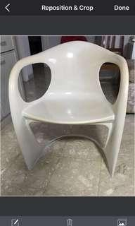Oldies PVC Chair , one piece