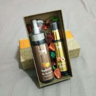 Premium Combo Pack - Herv Brightening Oil Cleanser + Herv Deep & Glow Exfoliator