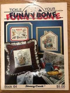 Cross Stitch Design - Tickle Your Funny Bone
