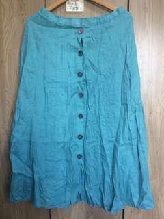 Authentic J.Jill Linen Ling Skirt