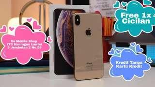 Apple iPhone XS Max 256GB Gold Cicilan Tanpa Kartu Kredit