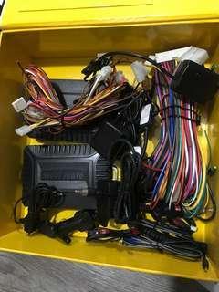 Steelmate shock sensor, wire harness, antenna 898n2