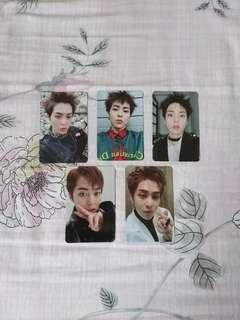 🚚 [WTS] EXO Xiumin Official Photocards