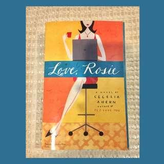 "Pre-Loved ! Book 📚 ""Love Rosie"" by: Cecilia Aheren"