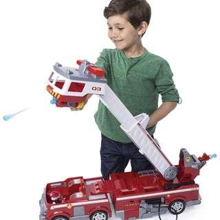 🚚 [in stock] Authentic Ultimate Rescue Fire truck with Marshall