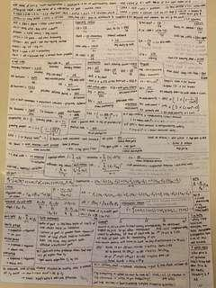 FIN2704 cheatsheet for midterm and finals