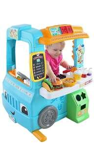 🚚 ~Ready Stocked~ Fisher-Price Laugh & Learn Servin' Up Fun Food Truck Van/ kitchen playset