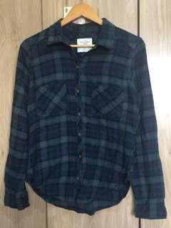 Authentic Abercrombie Plaid shirt