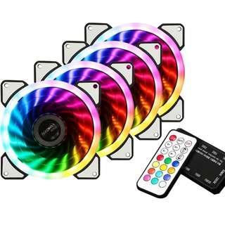 4x RGB fan