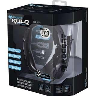 Roccat Kulo Virtual 7.1 Surround Sound USB Gaming Headset (Black)