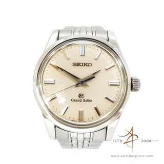 [Full Unpolished Set] Seiko GS Grand Seiko SBGW035 Ivory Dial Watch (2017)