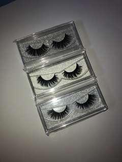 3 FOR $20 FAUX MINK LASHES