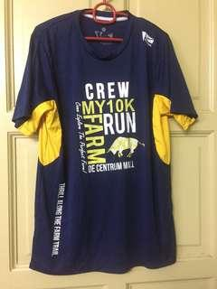 Farm Run Shirt Size L #BEAUTY50