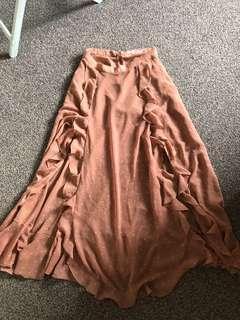 Ruby maxi skirt