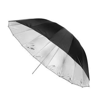43inch/110cm Studio Umbrella Black & White Rubber Cloth Stainless Steel Photography Reflective Umbrella Photo Studio Accessories