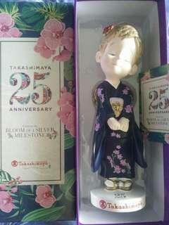 Limited Edition Takashimaya 25th Anniversary Rose Chan