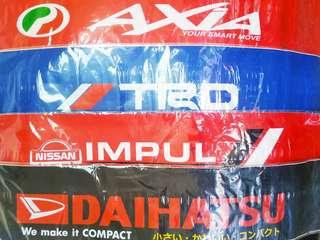Front screen 10 inch racing sticker