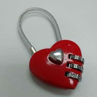 愛心 情侶 結婚鎖 結婚用品 道具