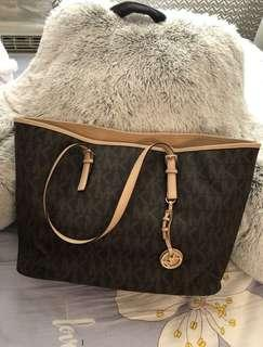 Brown MK Bag