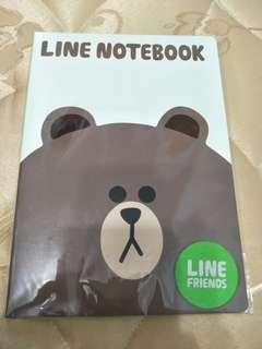 🚚 Line 熊大空白筆記本