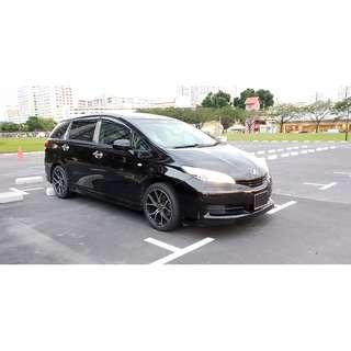 Toyota Wish 1.8A - Private Hire Ready