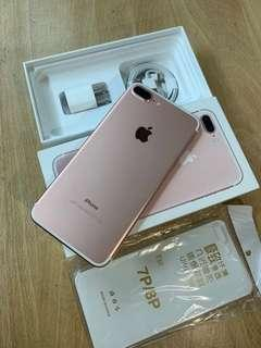 🚚 iPhone 7 Plus 128GB RoseGold Pink New