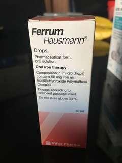 ferrum 鐵劑(適合BB、兒童及孕婦)