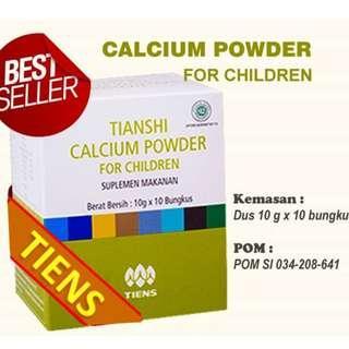 Tianshi Calsium For Children isi 10 shacet Kalsium anak,peninggi badan