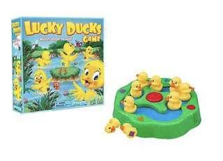 Pressman Toy Lucky Ducks Board Game for Kids Ages 3 and Up Kids Educational Toy