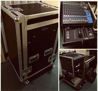 PA Sound System for Rent (Band Equipment Available)
