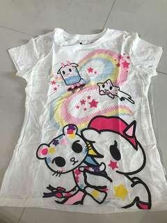 Authentic BN tokidoki tee shirt M