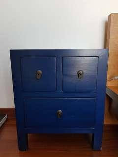 Antique Chinese Bedside Tables 1 SET (2 pieces)