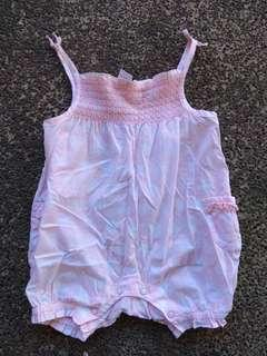 REPRICED! NEXT Pink Onsies 0-3months 6kgs/14lbs