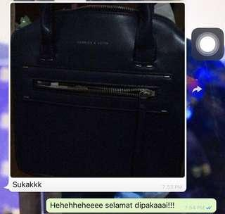 Testimoni takemypreloved cnk bag