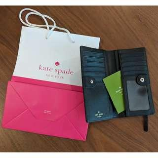 Authentic Kate Spade Basic Wallet in Black