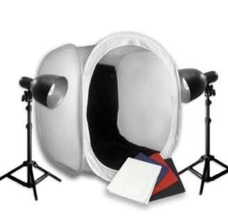 Portable photo tent kit (40cm)