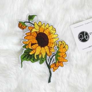 🚚 Iron On Patch | Sunflower