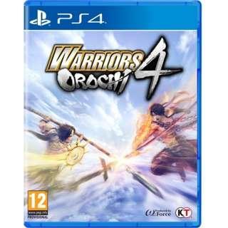 PS4 Warriors Orochi 4 R3