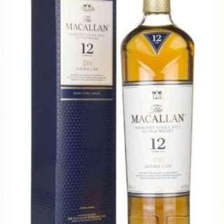 The Macallan 12 Year Old Double Cask Whisky *12