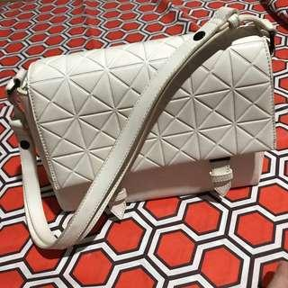 Charles & Keith/White/Faux leather/Bag
