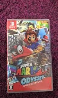Switch Mario odyssey