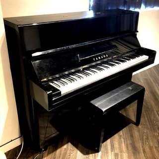 日本原裝YAMAHA P1直立式85鍵中古鋼琴~運費另估